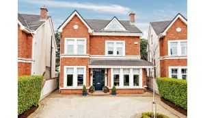 14 St Gabriel's, Cabinteely, Dublin 18. A five-bedroom detached house with a master suite that spans the second floor and a south-west facing garden.