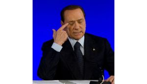 Former Italian premier Silvio Berlusconi was sentenced to one year in prison by a court in Milan today. Photograph: David Ramos/Getty Images