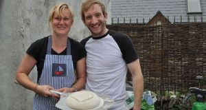 Laura Moore and Patrick Ryan of the Firehouse Bakery and Baking School
