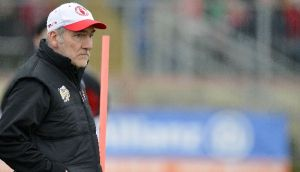 Tyrone manager Mickey Harte has made five changes for the cork game. Photograph: Russell Pritchard/Inpho/Presseye