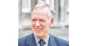 Dr John O'Connell moved from the Labour benches to eventually settle with Fianna Fáil. photograph: dara macdónaill.