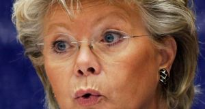 Viviane Reding: discussed data protection legislation