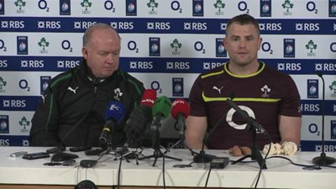 Ireland captain Jamie Heaslip previews Six Nations rugby face-off against France in Dublin