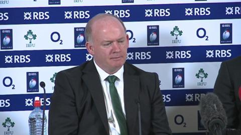 Declan Kidney considers Ireland's performance against France in the Six Nations.