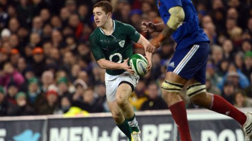 Ireland's Paddy Jackson. Photograph: Cyril Byrne/The Irish Times