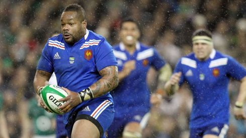 France's Mathieu Bastareaud. Photograph: Colm O'Neill/Inpho