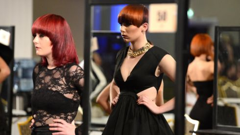 An inside look at the IHF National Hairdressing Championships 2013 at City West Hotel, Dublin. Photograph: Dara Mac Dónaill/The Irish Times