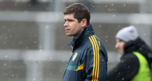 Kerry manager Eamonn Fitzmaurice. Photograph: Kieran Murray/Inpho