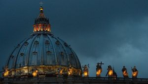 St Peter's Basilica in the Vatican. Photograph: Jeff J Mitchell/Getty Images
