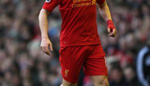 File photo dated 17/02/2013 of Liverpool's Stewart Downing. PRESS ASSOCIATION Photo. Issue date: Sunday March 3, 2013. Liverpool winger Stewart Downing believes the side are starting to click into gear and while it may be just a little too late to snatch a Champions League place he is confident they can still finish the season on a high. See PA Story SOCCER Liverpool. Photo credit should read: David Davies/PA Wire. Editorial use only. Maximum 45 images during a match. No video emulation or promotion as 'live'. No use in games, competitions, merchandise, betting or single club/player services. No use with unofficial audio, video, data, fixtures or club/league logos.