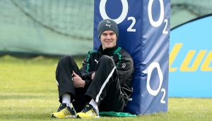 Ireland's Jonathan Sexton will train fully from tomorrow. Photograph: Billy Stickland/Inpho