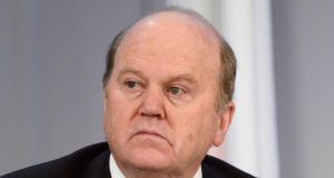 Minister for Finance Michael Noonan. Photograph: Alan Betson/The Irish Times