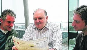 Rugby pundit and broadcaster George Hook, who has had gout for 15 years, says it's a pain like no other. Photograph: Bryan O'Brien