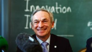 Richard Bruton, Minister for Enterprise and Innovation, hopes the new EU-US free trade pact can be signed off during the Irish presidency of the EU council. Photograph: Alan Betson