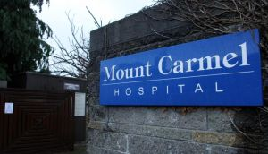Ms Howe developed sudden sharp pains and nausea and was rushed to Mount Carmel by her husband.