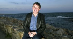 Mr. Sean O'Cuirreain, at Spiddal, Co. Galway. Photograph: Eric Luke Staff Photographer
