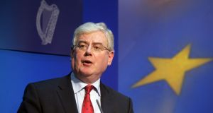 Tanaiste Eamon Gilmore. Photograph: Alan Betson/The Irish Times