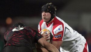 Ulster and Ireland back row Stephen Ferris