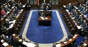 The chamber at Leinster House