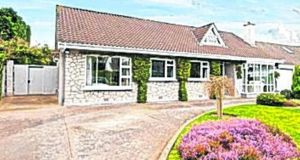 Take Five: Sherry FitzGerald Dún Laoghaire is seeking €650,000 for this four-bed detached bungalow at 2 Shrewsbury Lawn, Cabinteely, Dublin 18