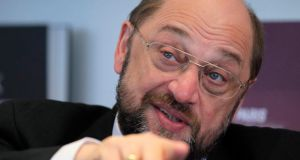 European Parliament president Martin Schulz: the parliament has rejected the seven-year budget approved by European leaders last month.