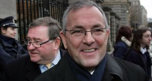 Public Accounts Committee chairman John McGuinness was shocked that free travel payments were based on a 1973 usage  survey. Photograph : Matt Kavanagh / The Irish Times