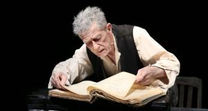An examined life: John Hurt in Krapp's Last Tape. Photograph: Ryan Miller
