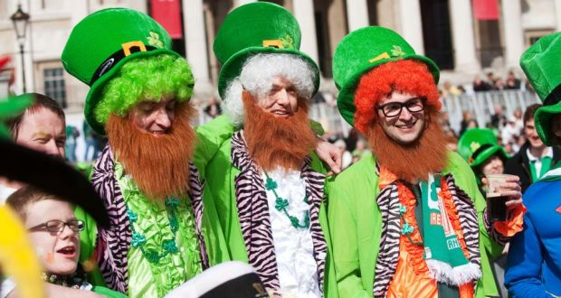 Image result for St Patrick's Day Festival trafalgar square