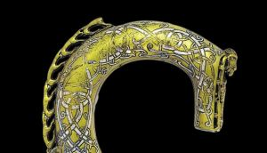 Crooked history: the Clonmacnoise crozier, from the 11th century. Photograph: National Museum of Ireland