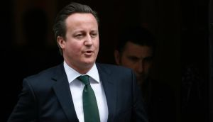 British prime minister David Cameron: the aim of the latest political broadcast is to portray serious leadership.  Photograph: Suzanne Plunkett/Reuters