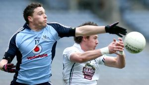THE Vodafone logo will not appear on Dublin GAA jerseys from next season after the company announced they will be ending their sponsorship deal with county at the end of this year's All-Ireland championship. Photograph: Ryan Byrne/Inpho