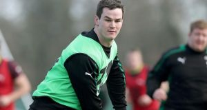 Jonathan Sexton during Ireland training at Carton House. Morgan Treacy/Inpho