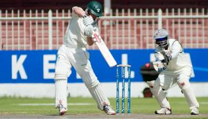 Ireland captain William Porterfield made a century on the final day of the Intercontinental Cup clash against the UAE in Sharjah. Photograph: Barry Chambers/Inpho/ICC