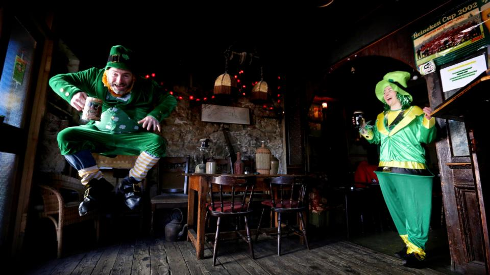 St Patrick's Day stimulates the nation's need to be twinkly, drunk and sentimental
