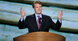 Joseph P Kennedy III is the only member of the Kennedy family currently holding political office in the US. Photograph: Suzanne Kreiter/Globe