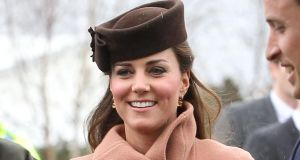 The Duchess of Cambridge attends the Cheltenham Festival. Photograph: Danny Martindale (Getty Images)