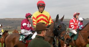 Jockey JT McNamara is stable but remains in an induced coma. Photograph: David Davies/PA Wire