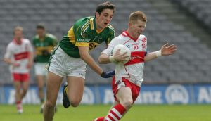 Anthony Maher had an impressive performance on his return to the Kerry side. Photograph: Alan Betson
