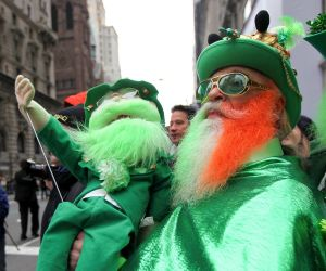 St Patrick's Day blog Celebrating Irishness - as it happened