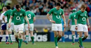 The body language of Peter O'Mahony, Conor Murray and Ian Madigan says it all.