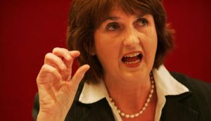 Minister for Social Protection Joan Burton: recently received mortgage arrears report. Photograph: Frank Miller