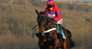 Sprinter Sacre on his way to winning the  Queen Mother Champion Chase.