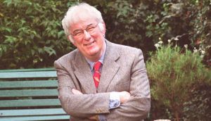 Seamus Heaney: 'Electrification is really the metaphor for a lot of things, a journey from backwardness into light.' Photograph: Pat Langan