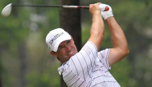 Pádraig Harrington will continue to wear the glasses  he sported at the  Thailand Open in Bangkok last week, when he plays in the Malaysian Open this week. Photograph: Apichart Weerawong/AP Photo.
