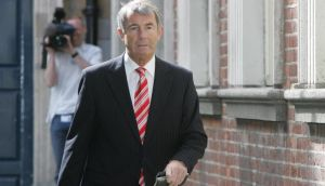 Michael Lowry arriving at the Moriarty Tribunal at Dublin Castle in May 2008. Photograph: Brenda Fitzsimons