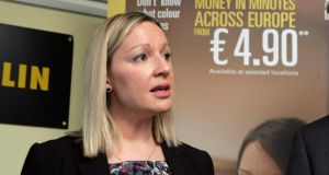 "Minister of State for European Affairs Lucinda Creighton: ""very concerned"" at the low number of applications for EU jobs"