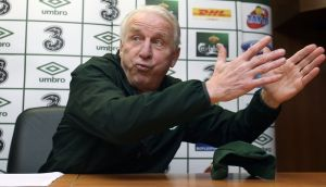 Republic of Ireland manager Giovanni Trapattoni. Photograph: INPHO/Donall Farmer