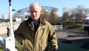 Trainer Willie Mullins has entered Back In Focus, Boston Bob and Quel Esprit into the Irish National. Photograph: David Davies/PA Wire