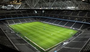 Sweden have played two games to date at the Friends Arena in Stockholm, with the stadium roof closed on both occasions
