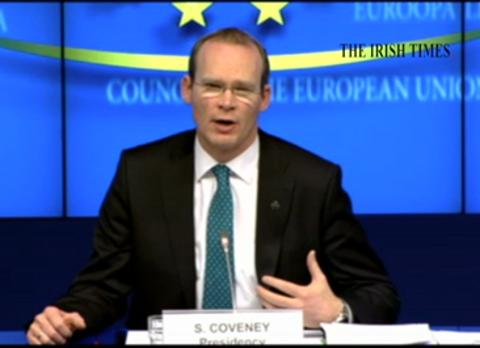 Minister for Agriculture Simon Coveney hails what he terms as success in a deal on Cap reform struck in Brussels last night